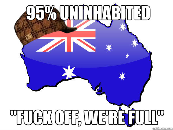 95% uninhabited