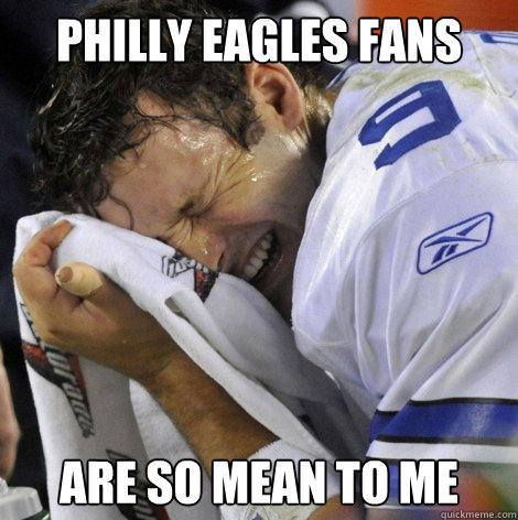 Philly Eagles Fans Philly Eagles Fans Are so Mean
