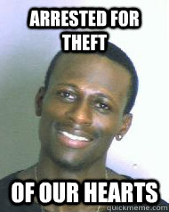 arrested for theft of our hearts  Ridiculously Photogenic Mugshot