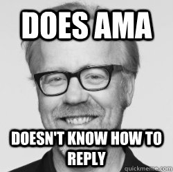 DOES AMA Doesn't know how to reply - DOES AMA Doesn't know how to reply  Misc