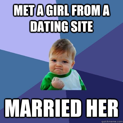 Done with dating sites meme