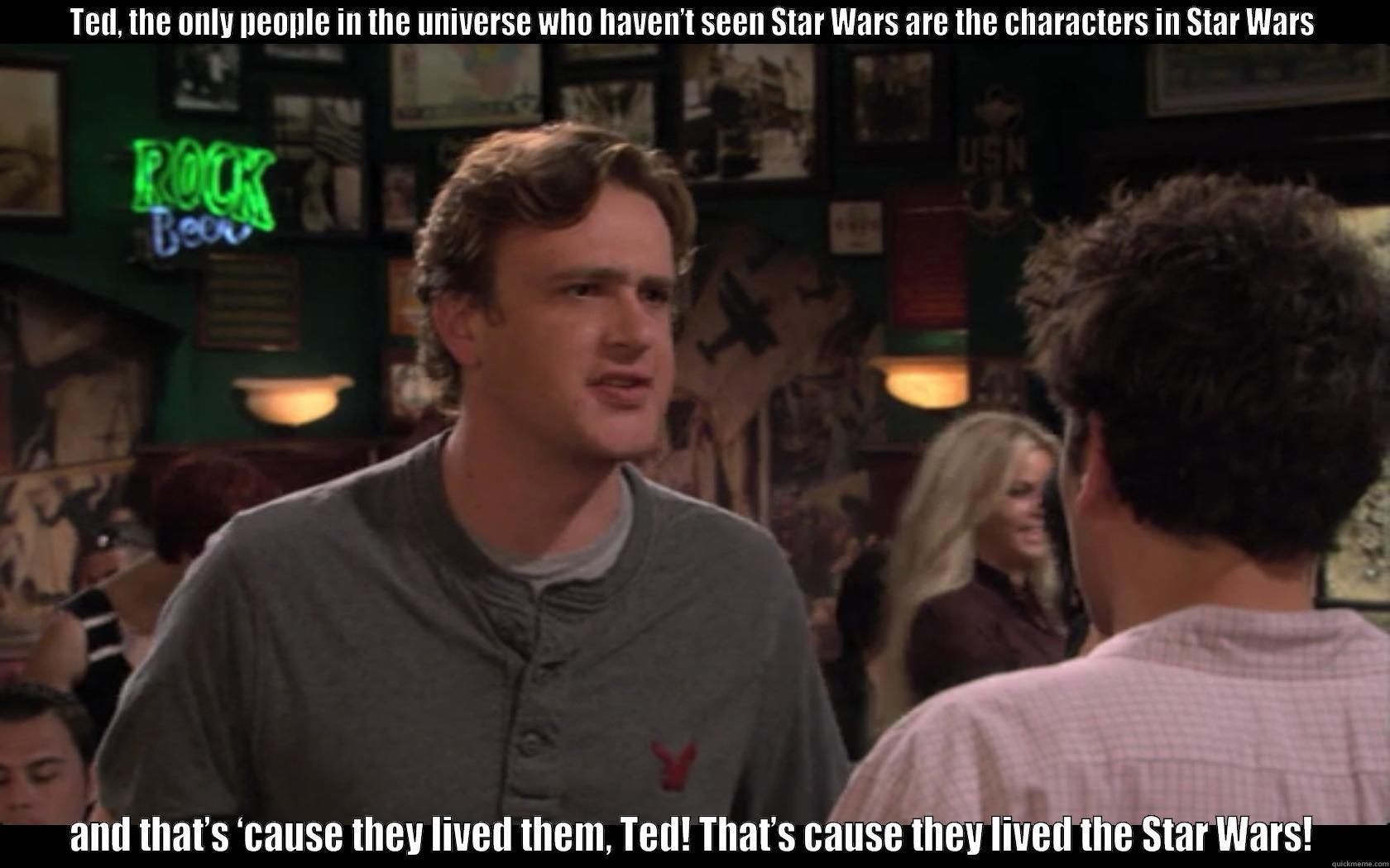 a719da898566ed9182a264be57d81abfe7b6865d66105e95d3c6791880919161 she's never seen star wars? quickmeme