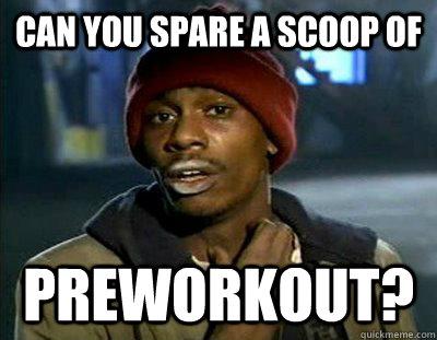 imágenes de pre workout meme scarface