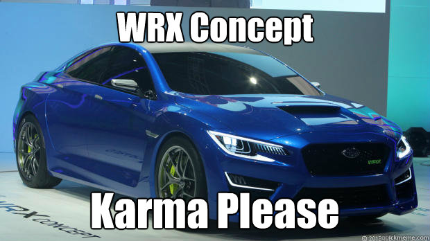 WRX Concept Karma Please - WRX Concept Karma Please  Misc