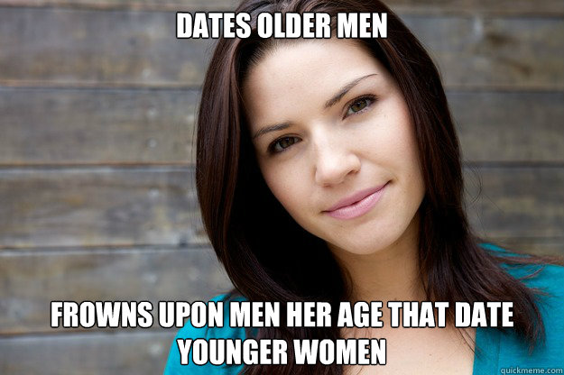 Dating older men memes images