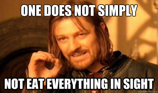 One Does Not Simply not eat everything in sight - One Does Not Simply not eat everything in sight  Boromir