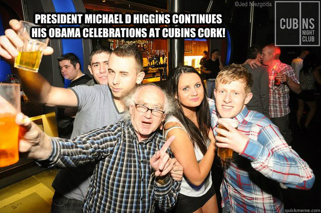 president michael d higgins continues his obama