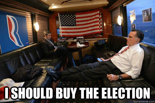 I should buy the election -  I should buy the election  Sudden Realization Romney