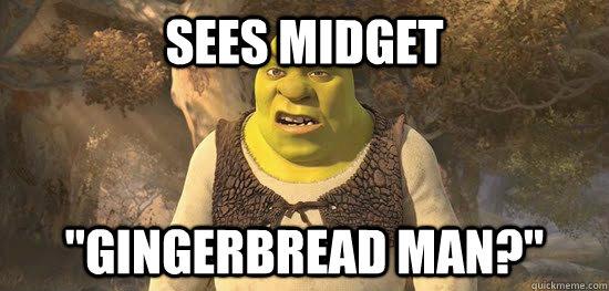 Sees midget