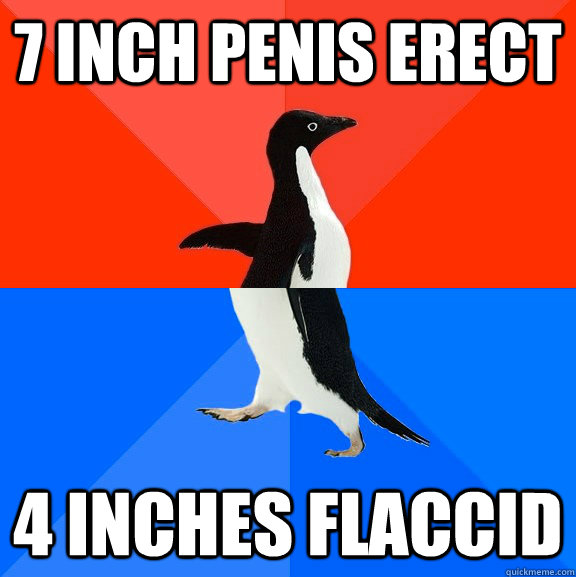 7 Inch Flaccid Penis