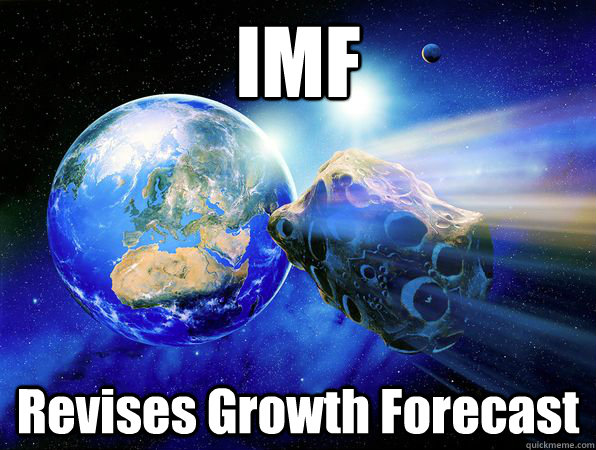 IMF Revises Growth Forecast