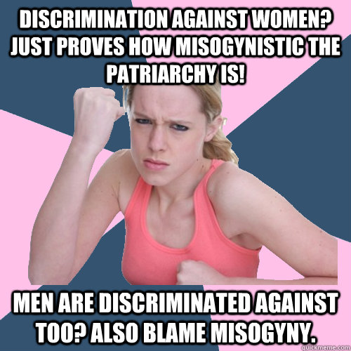 Are women discriminated against by men?