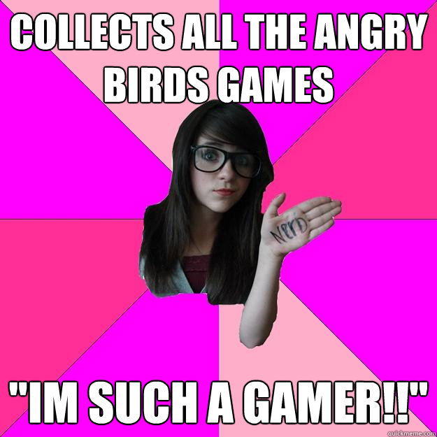 collects all the angry birds games