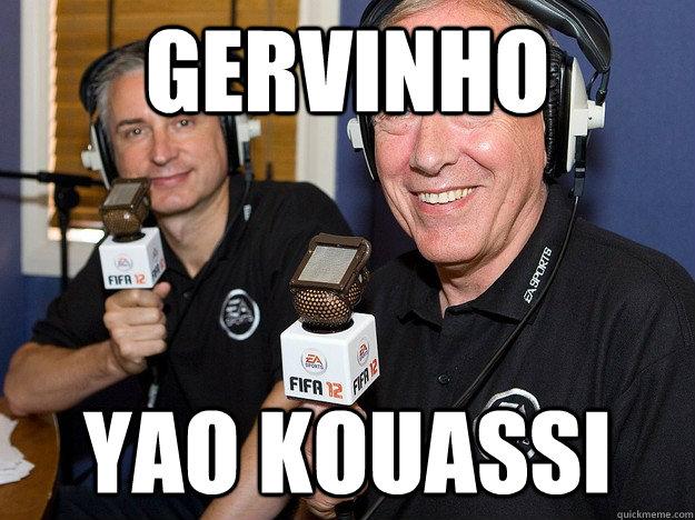 Gervinho Yao Kouassi - Gervinho Yao Kouassi  FIFA 12 commentators