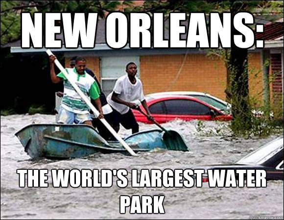 New Orleans: The World's Largest Water Park  New Orleans Water Park