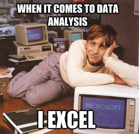 bill gates data excel