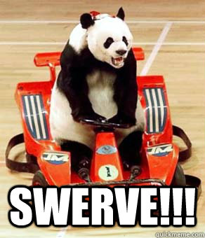 Swerve Cat Meme