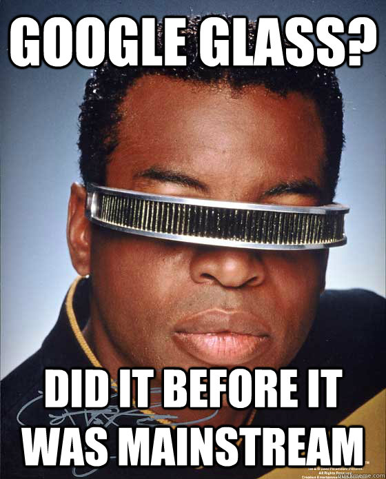 Google Glass? Did It Before It Was Mainstream