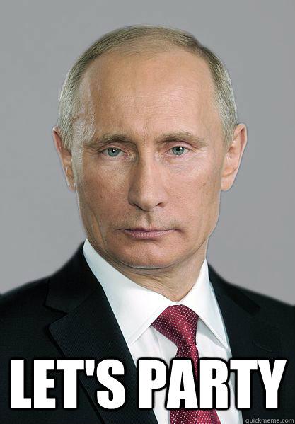 Let's Party  Putin