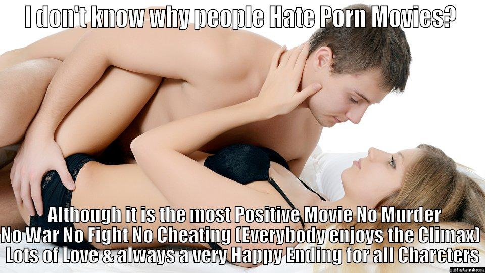Feel guilty after watching porn