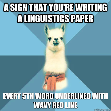 How to create an A-winning paper in linguistics?