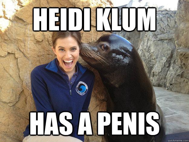 Heidi KLUM has a penis - Heidi KLUM has a penis  Crazy Secret