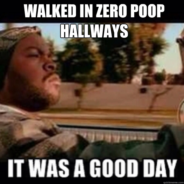 Walked in zero poop hallways  - Walked in zero poop hallways   icecube no ak