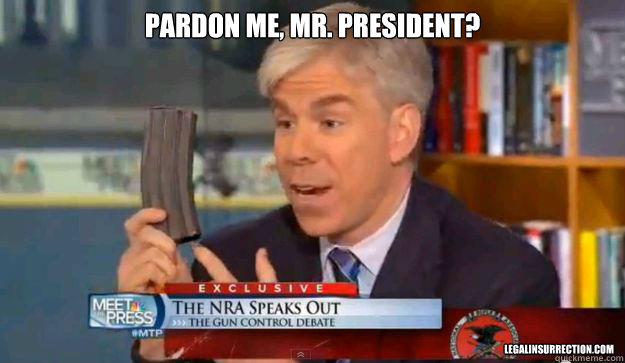 Pardon me, Mr. President?  LegalInsurrection.com - Pardon me, Mr. President?  LegalInsurrection.com  David Gregorys Privilege