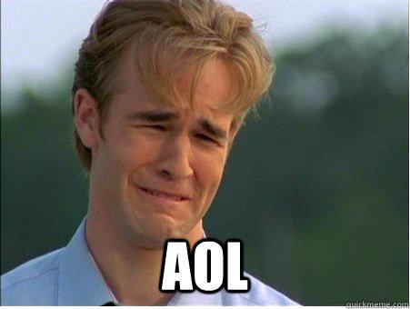 AOL -  AOL  1990s Problems