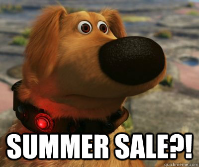SUMMER SALE?! -  SUMMER SALE?!  Dog from UP