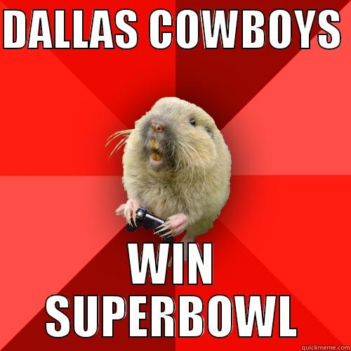 DALLAS COWBOYS  WIN SUPERBOWL Gaming Gopher
