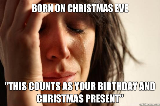 Born on christmas eve