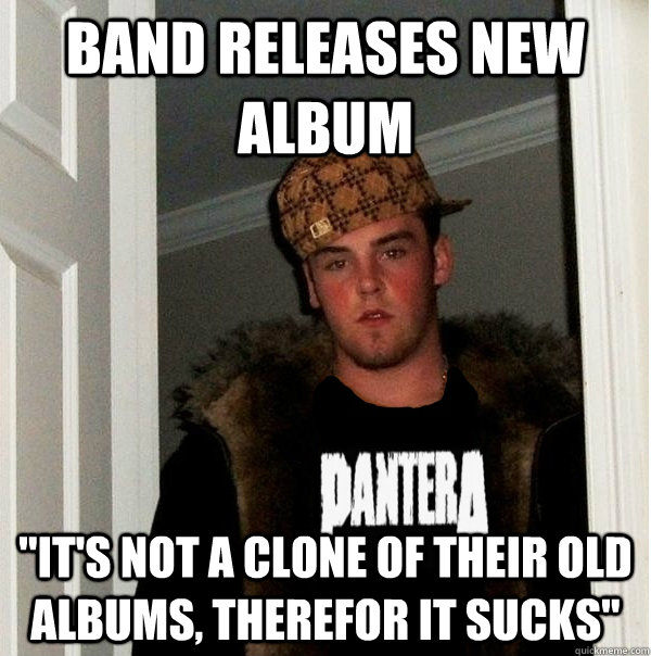 Band releases new album