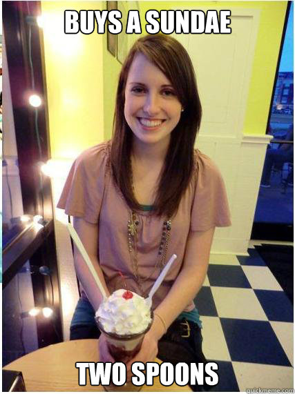 Buys a sundae Two Spoons - Buys a sundae Two Spoons  Misunderstood Girlfriend