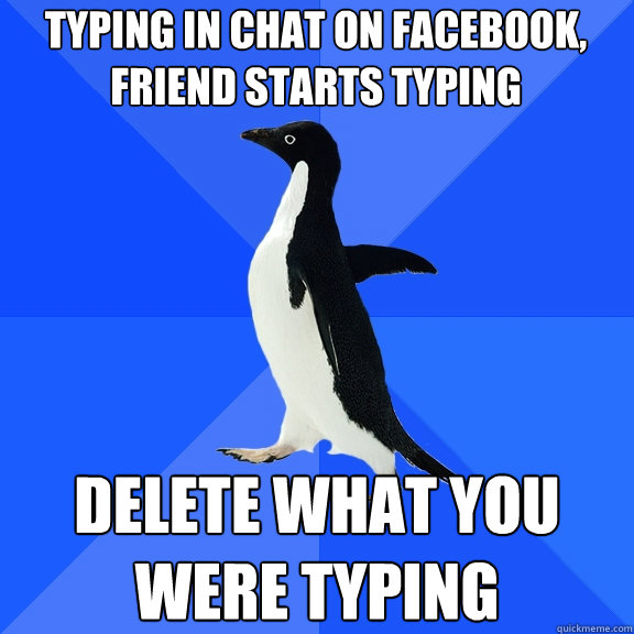 Socially Awkward Penguin Typing