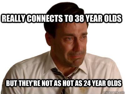 problems dating older man