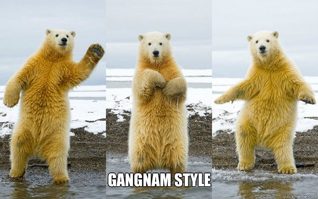 Gangnam Style - Gangnam Style  Dancing Polar Bear