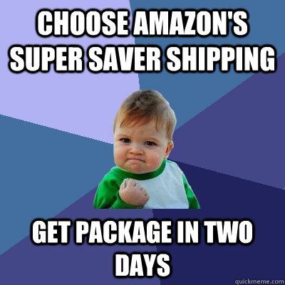 amazon free super saver delivery