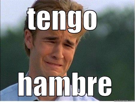 TENGO  HAMBRE 1990s Problems