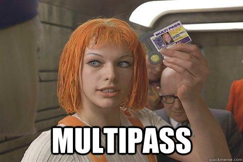 Multipass  multipass