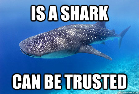 is a shark Can be trusted