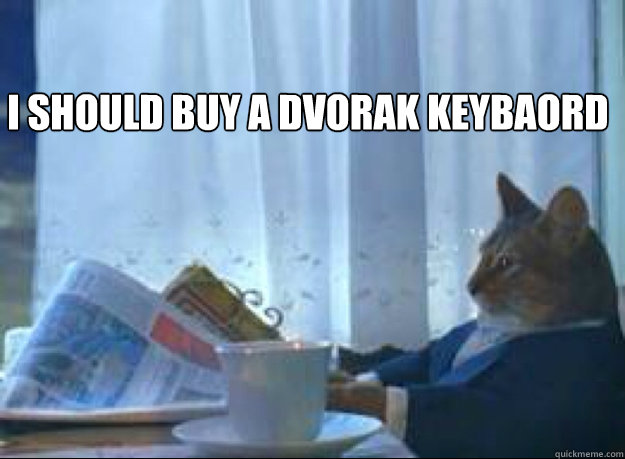 I Should buy a DVORAK keybaord  Caption 3 goes here - I Should buy a DVORAK keybaord  Caption 3 goes here  I should buy a boat cat