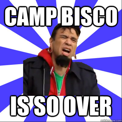 Camp Bisco  is so over
