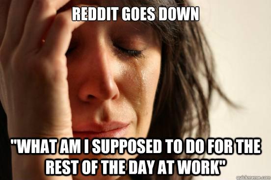 Reddit goes down