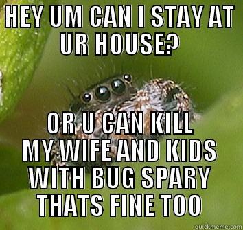 ac32047338a6482c00435175f3ab0eace7efb036979ec8a617b0590d906d611c misunderstood spider memes quickmeme,Misunderstood Spider Meme