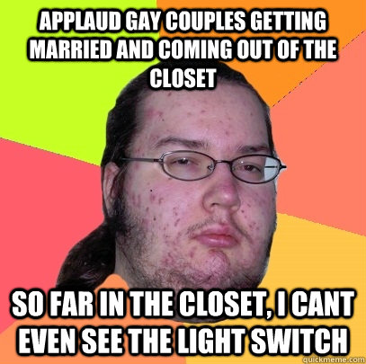 "heteronormativity and my coming out of the closet as a gay individual ""why does anderson cooper have to come out as gay (or as we call it among my friends ""the closet door got blown off and the bead coming out, or not."