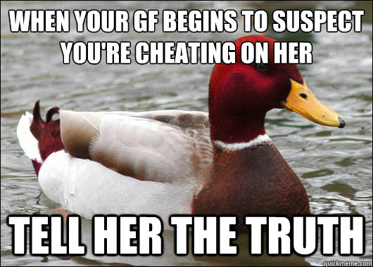 find out if your gf is cheating