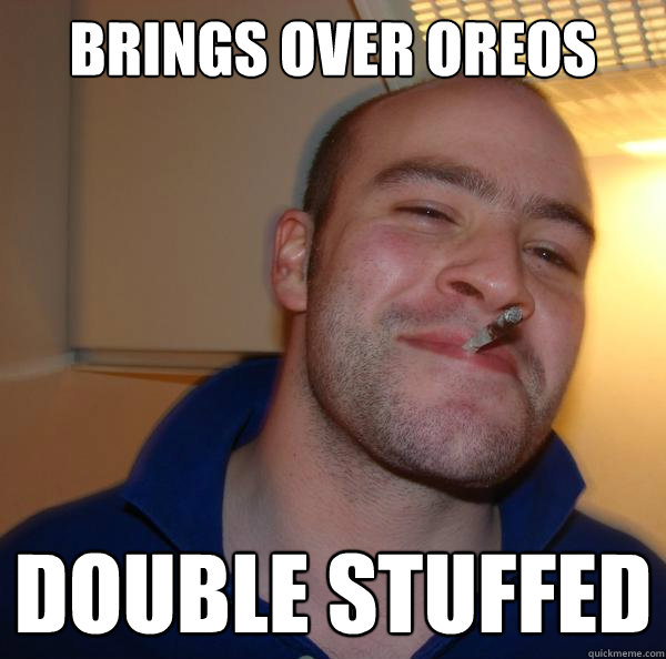 Brings over oreos double stuffed - Brings over oreos double stuffed  Misc