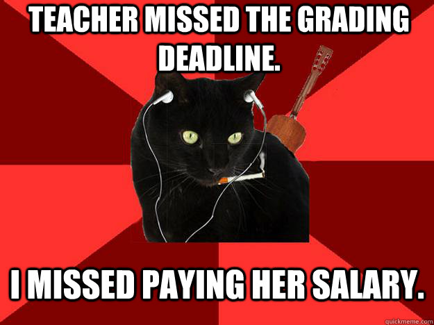 Teacher Missed The Grading Deadline I Missed Paying Her Salary