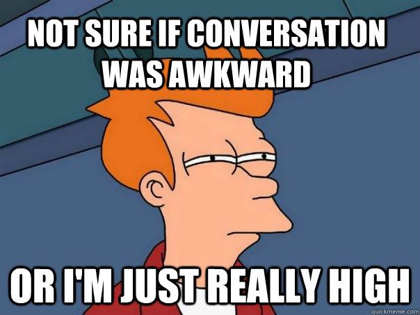 awkwardness free conversation